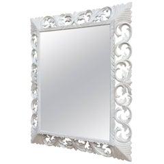 French Oak Henri II style Painting Mirror