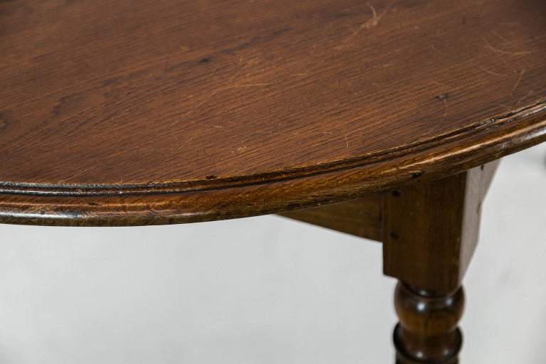 French Oak Round Table For Sale 5