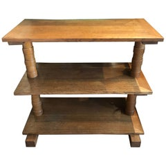 French Oak Side Table/Console