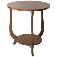 French Olive Wood Side Table