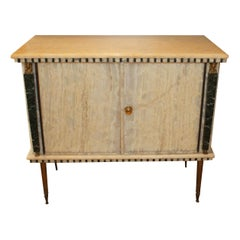 French Onyx Commode, circa 1950