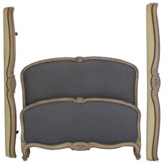 French Original Painted Bed