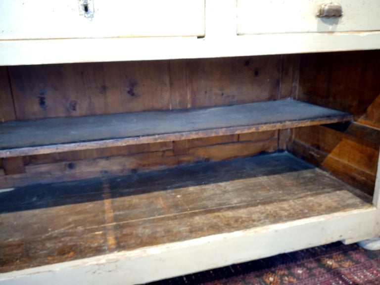 French Original Painted Store Counter For Sale 1