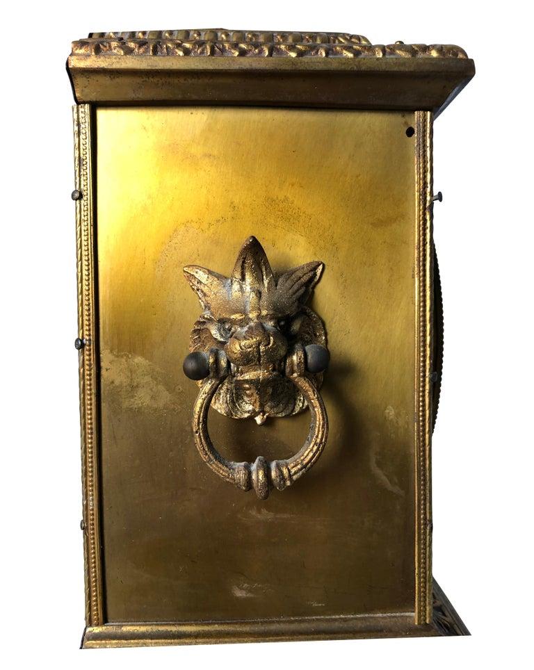 French Ormolu Mantel Clock, 19th Century For Sale 8