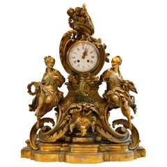 French Ormulu Mantle Clock
