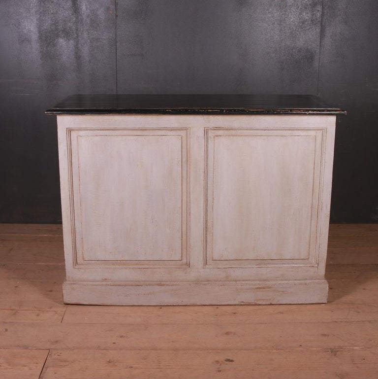 Pine French Painted Buffet For Sale