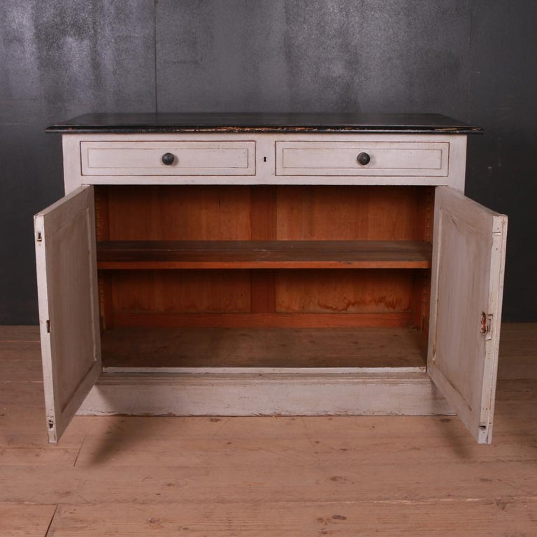 French Painted Buffet For Sale 2