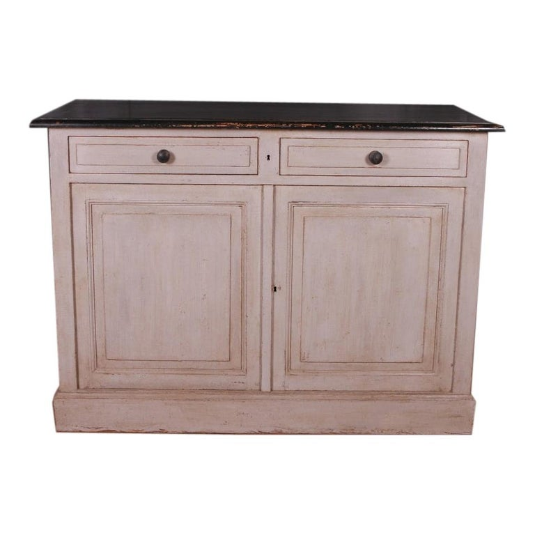 French Painted Buffet For Sale