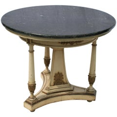French Painted Gueridon or Centre Table
