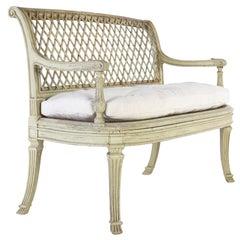 French Painted Sofa, circa 1900