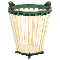 French Painted Utility Basket