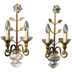French Pair of 'Maison Baguès' Wall Lights