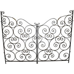 French Pair of Mid-20th Century Gates