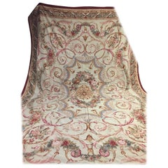 French Palace Aubusson Rug circa 1930 Very Large