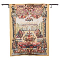 French Palace Scene Tapestry
