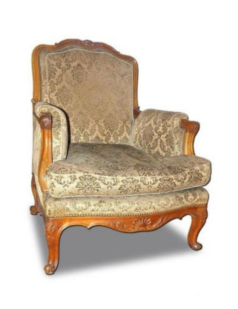 Louis XV French Parlor Set, 3 Pieces For Sale