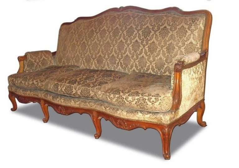 French Parlor Set, 3 Pieces In Good Condition For Sale In Atlanta, GA