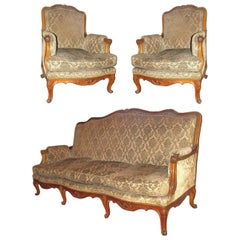 French Parlor Set, 3 Pieces