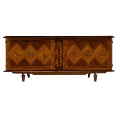 French Parquetry Vintage Buffet