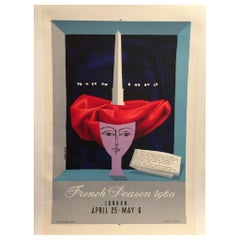 French Peason, 1960 Poster