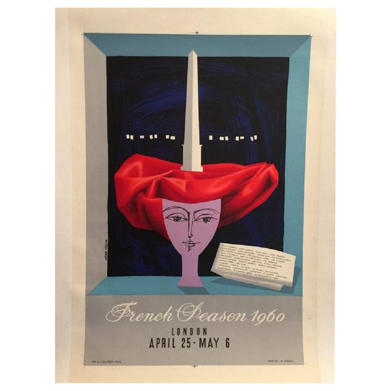 French Peason, 1960 Poster For Sale