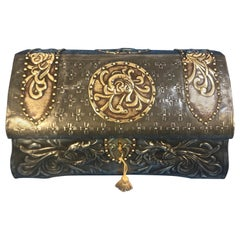 French Pewter Arts & Crafts Box
