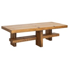 French Pine Coffee Table