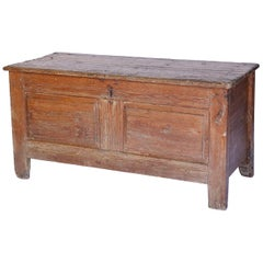 French Pine Trunk, circa 1880