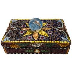French Pique Assiette Mosaic Box