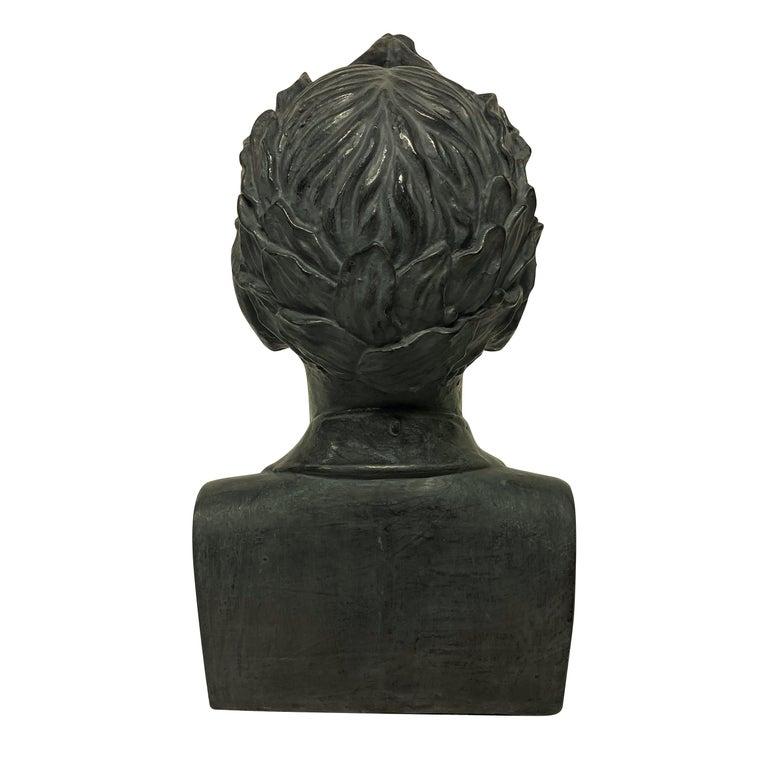 Mid-20th Century French Plaster Head of Napoleon