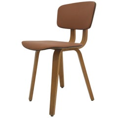 French Plywood Chair Etablissement Regnier, Bourgogne, circa 1960s