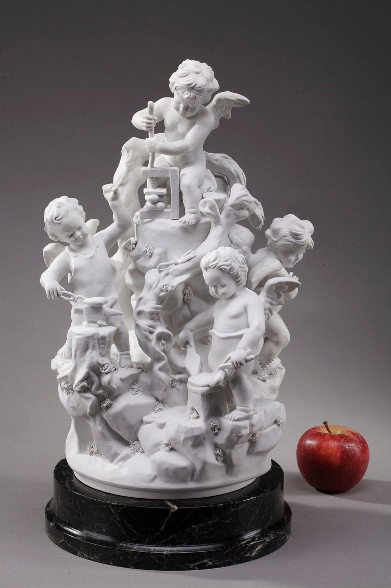 French Porcelain Biscuit