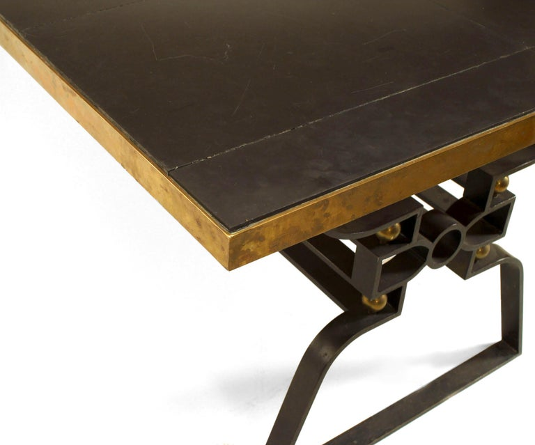 French Post-War Design 1950s Dining Table In Good Condition For Sale In New York, NY