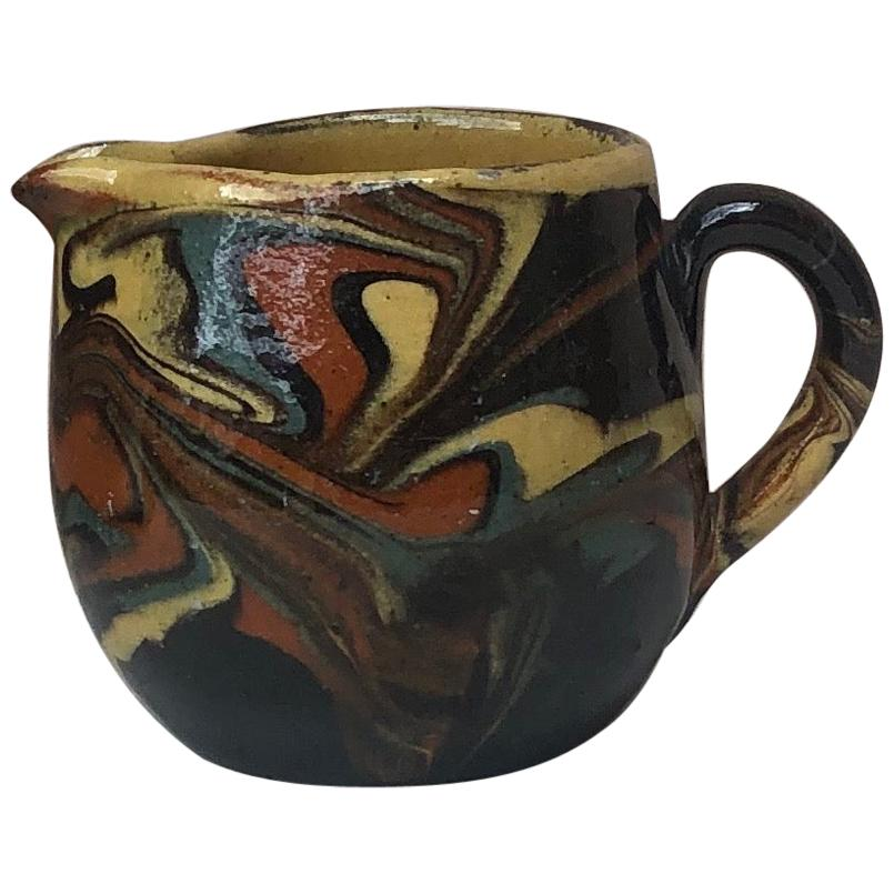 French Pottery Pitcher, Circa 1890