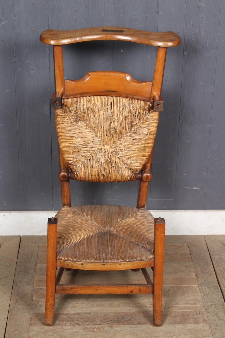 French Prie Dieu Metamorphic Chair, 19th Century In Good Condition For Sale In Doylestown, PA