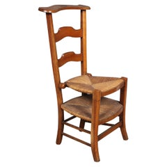 French Prie Dieu Metamorphic Chair, 19th Century