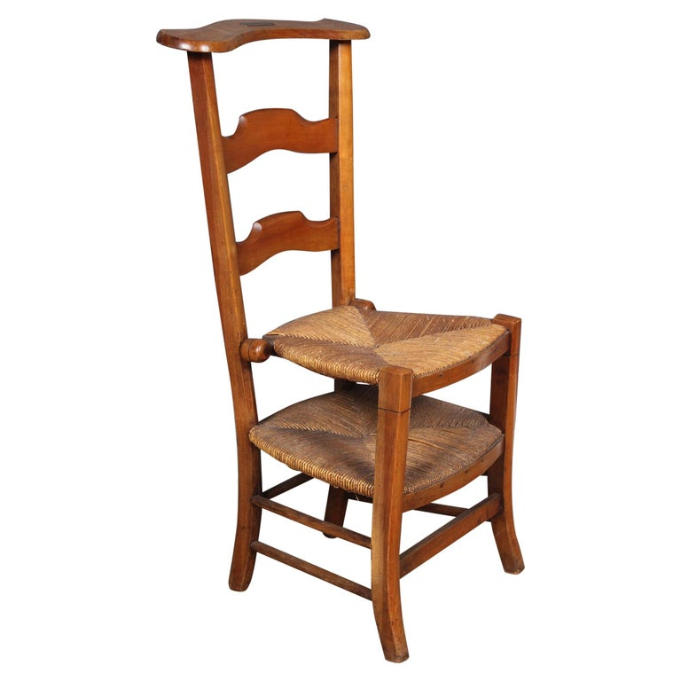 French Prie Dieu Metamorphic Chair, 19th Century For Sale