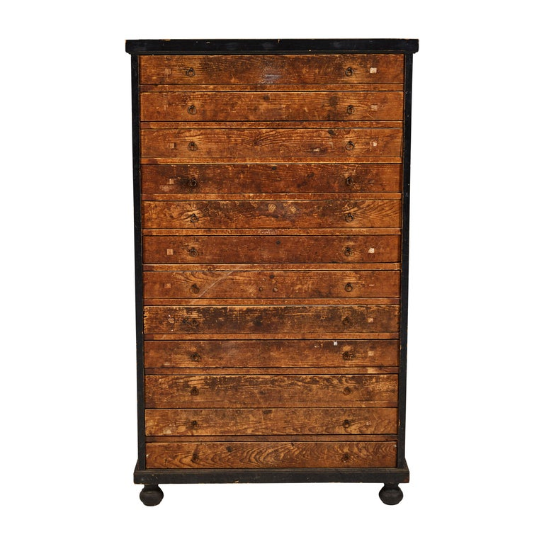 French Primitive Chest of Drawers For Sale