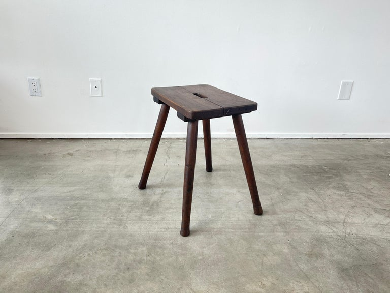 French Primitive Stools For Sale 1