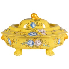 French Provencal Faience Tureen