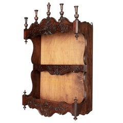 Louis XV Shelves and Wall Cabinets