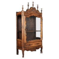 French Provençal Vitrine or Display Cabinet