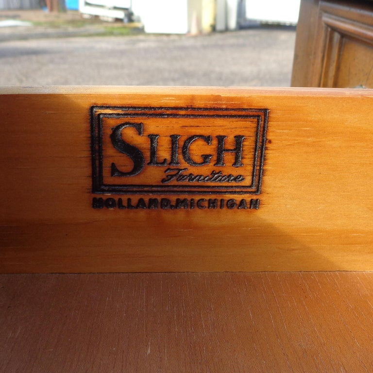 French Provencial Writing Desk by Sligh Furniture For Sale 2