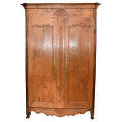 French Provincial Armoire Bar