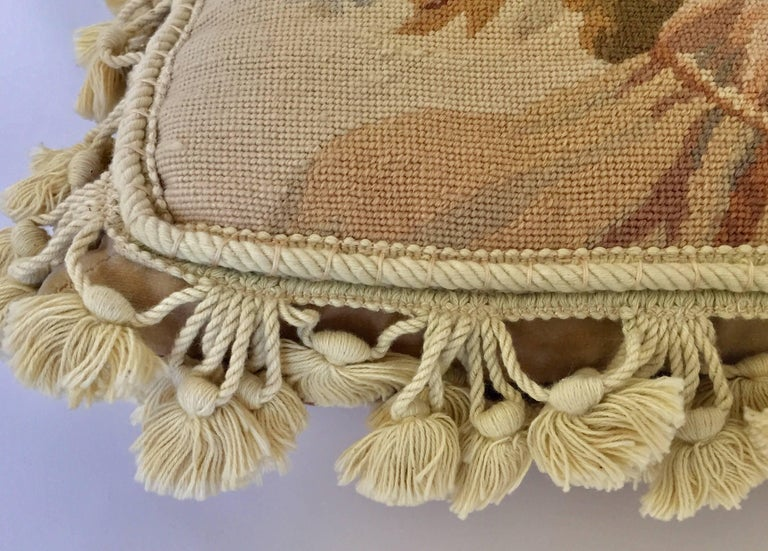 French Provincial Aubusson Style Throw Pillow 2