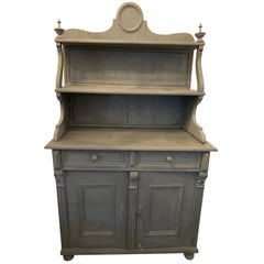 French Provincial Cabinet with Hutch