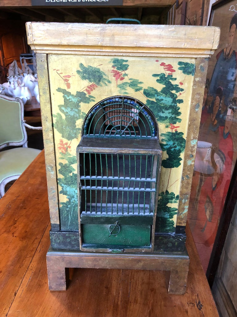 French Provincial Empire Style Birdcage For Sale 7