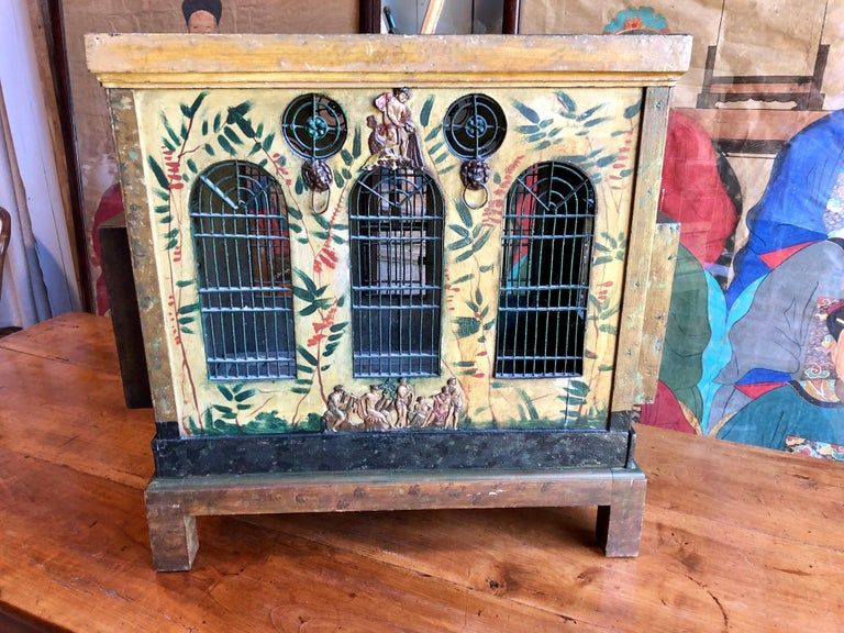French Provincial Empire Style Birdcage For Sale 8