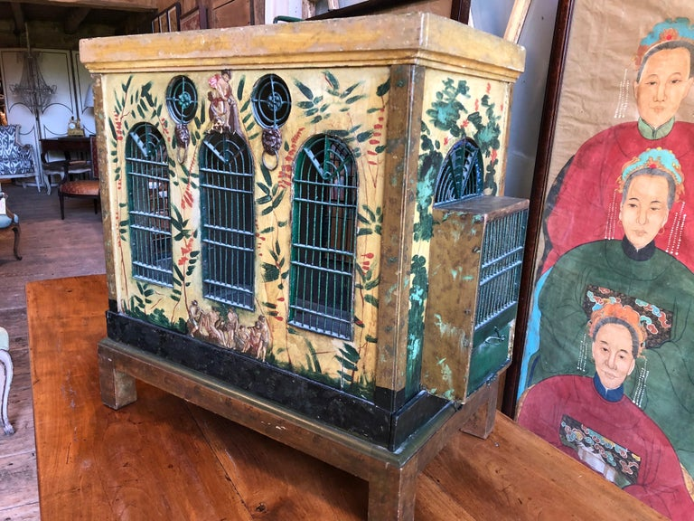 French Provincial Empire Style Birdcage For Sale 11