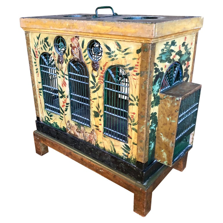 French Provincial Empire Style Birdcage For Sale